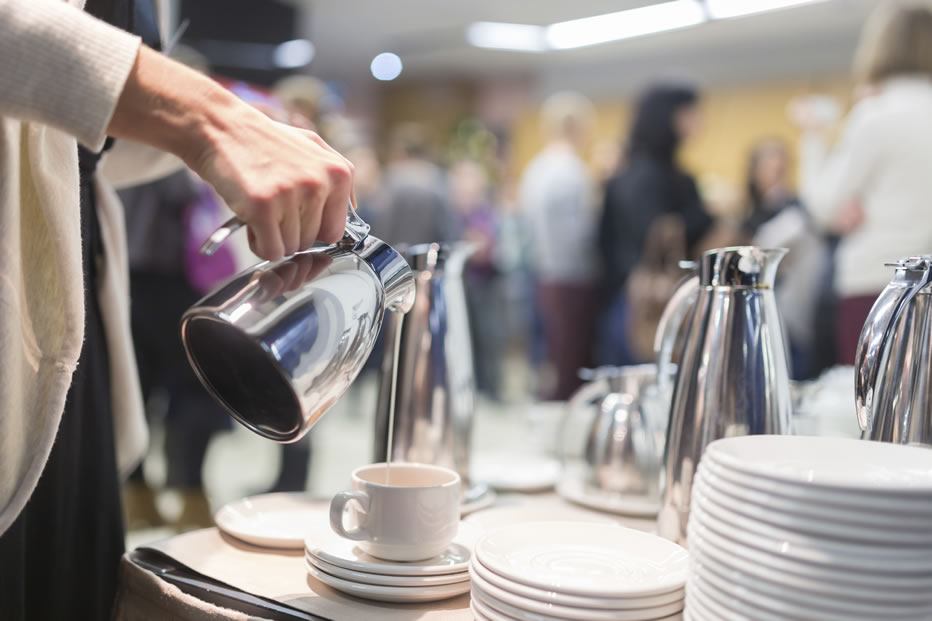 Catering-Services-Bromley-Coffee-break-at-business-meeting